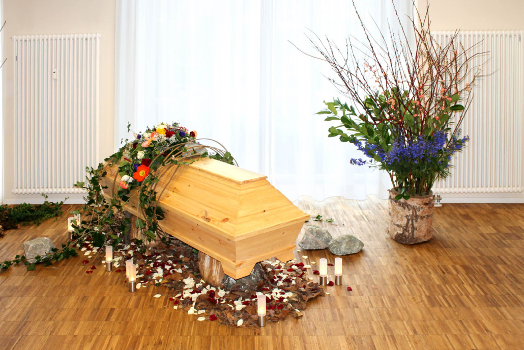 Trauerfeier im Saal des Lotsenhaus